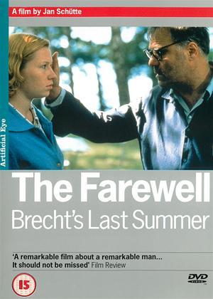 The Farewell - Brecht's Last Summer Online DVD Rental