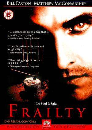 Frailty Online DVD Rental
