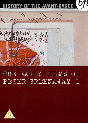 Rent The Early Films of Peter Greenaway: Vol.1 Online DVD Rental