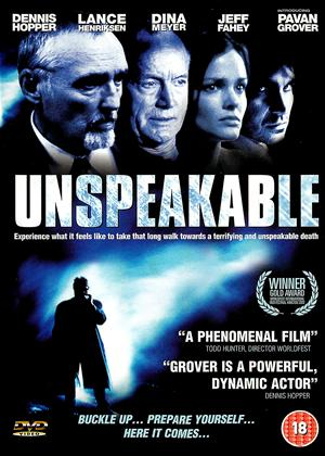 Rent Unspeakable Online DVD Rental