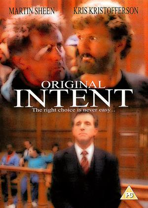Rent Original Intent Online DVD Rental