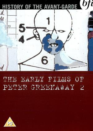 Rent The Early Films of Peter Greenaway: Vol.2 Online DVD Rental