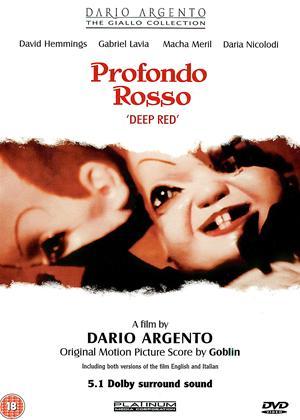 Rent Deep Red (aka Profondo Rosso) Online DVD Rental