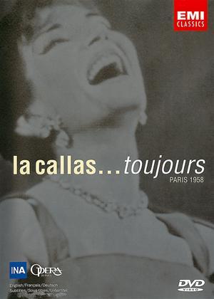 Rent Maria Callas: La Callas: Toujours Paris 1958 Online DVD Rental