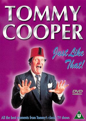 Tommy Cooper: Just Like That / Tribute To A Comic Genius Online DVD Rental