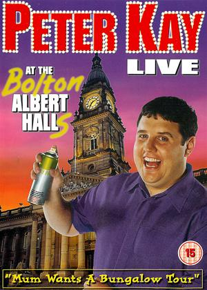 Rent Peter Kay: Live at the Bolton Albert Halls Online DVD Rental