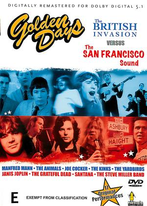 Golden Days: British Invasion Vs. San Francisco Sound Online DVD Rental