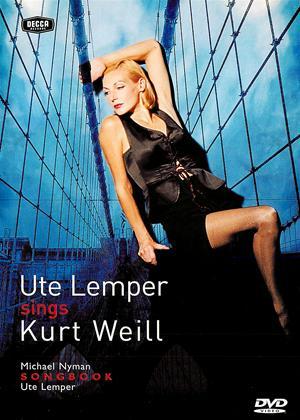 Ute Lemper Sings Kurt Weill Online DVD Rental