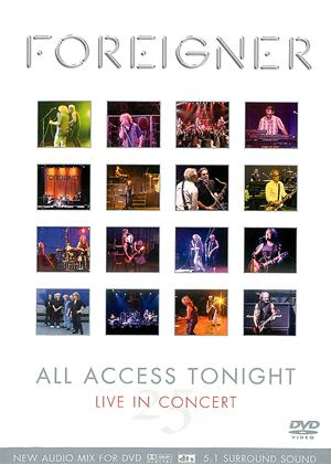 Foreigner: All Access Tonight: 25th Anniversary Tour Online DVD Rental