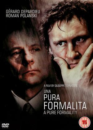 Rent A Pure Formality (aka Una Pura Formalita) Online DVD Rental