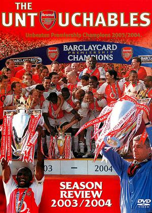 Arsenal FC: The Untouchables: Season Review 2003-2004 Online DVD Rental