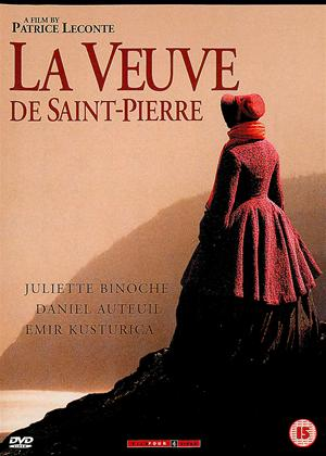 Rent The Widow of Saint-Pierre (aka La Veuve De Saint-Pierre) Online DVD Rental