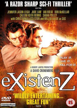 Rent eXistenZ Online DVD Rental