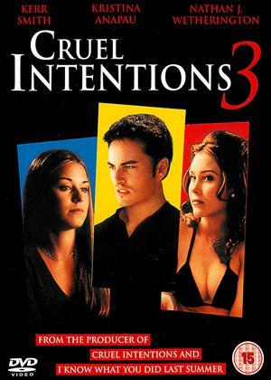 Rent Cruel Intentions 3 Online DVD Rental