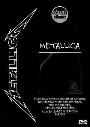 Rent Classic Albums: Metallica: The Black Album Online DVD Rental