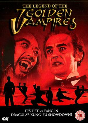 The Legend of the Seven Golden Vampires Online DVD Rental