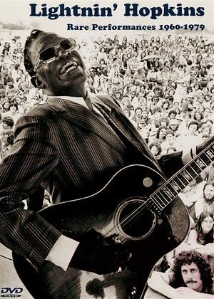 Rent Lightnin' Hopkins: Rare Performances 1960 -1979 Online DVD Rental