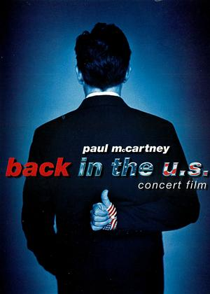 Paul McCartney: Back in the US Online DVD Rental