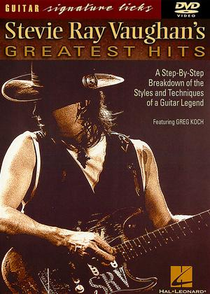 Guitar Signature Licks: Stevie Ray Vaughan's Greatest Hits Online DVD Rental