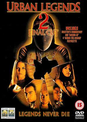 Rent Urban Legends 2: Final Cut Online DVD Rental