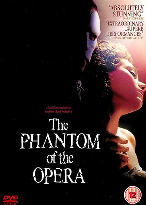 The Phantom of the Opera Online DVD Rental
