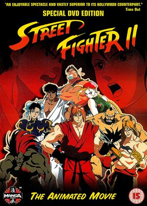 Street Fighter II: The Animated Movie Online DVD Rental