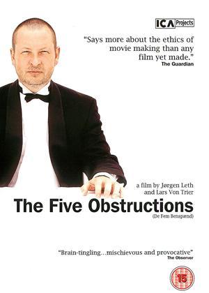 Rent The Five Obstructions (aka De Fem Benspaend) Online DVD Rental