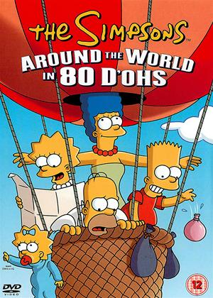 Rent The Simpsons: Around the World in 80 D'ohs! Online DVD Rental