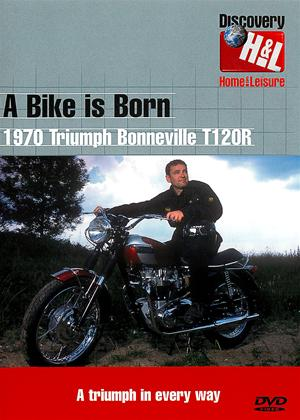 Rent A Bike is Born: 1970 Triumph Bonneville T120R Online DVD Rental