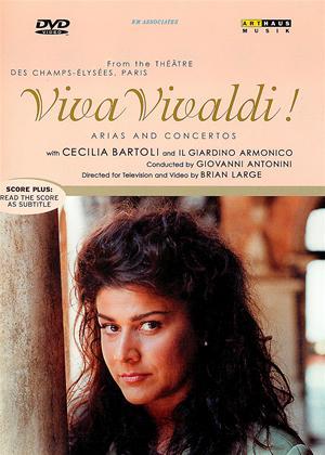 Cecilia Bartoli: Viva Vivaldi Online DVD Rental