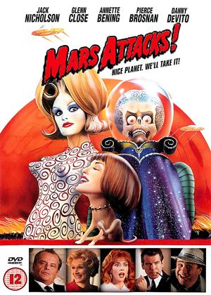 Rent Mars Attacks! Online DVD Rental
