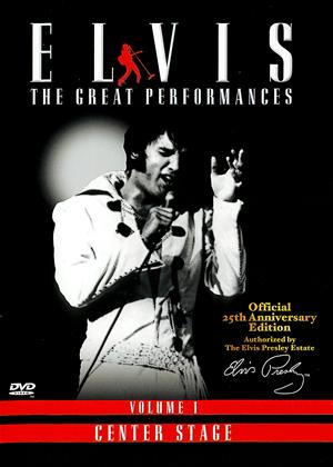 Rent Elvis: The Great Performances: Vol.1 Online DVD Rental