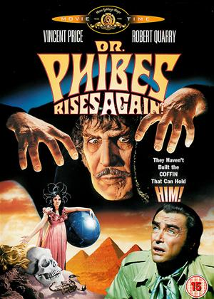 Rent Dr. Phibes Rises Again Online DVD Rental