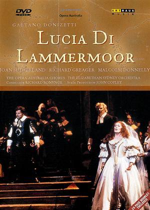 Donizetti: Lucia Di Lammermoor: Australian Opera Online DVD Rental