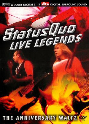 Status Quo: Live Legends Online DVD Rental