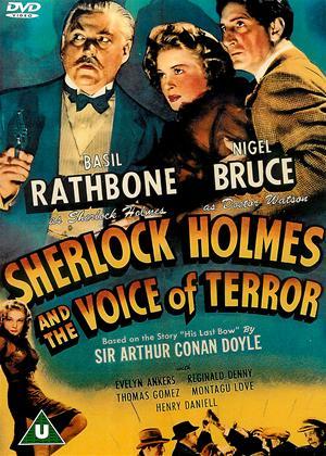 Sherlock Holmes: Voice of Terror Online DVD Rental
