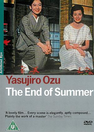 Rent The End of Summer (aka Kohayagawa-ke no aki) Online DVD Rental