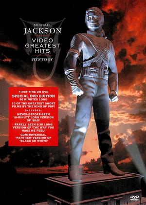 Michael Jackson: History Video Greatest Hits Online DVD Rental