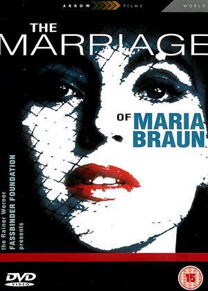 Rent The Marriage of Maria Braun (aka Die Ehe der Maria Braun) Online DVD Rental