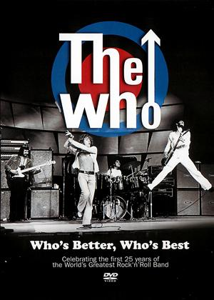 Rent The Who: Who's Better, Who's Best Online DVD Rental