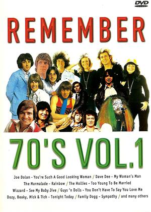 Remember the 70s: Vol.1 Online DVD Rental