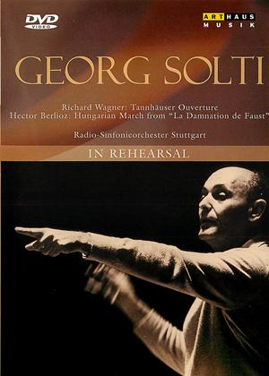 Georg Solti: In Rehearsal Online DVD Rental