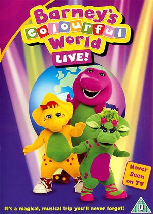 Barney: Colourful World Live Online DVD Rental