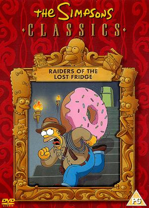 Rent The Simpsons: Raiders of the Lost Fridge Online DVD Rental