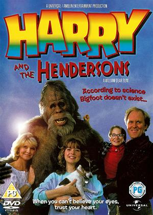 Rent Harry and the Hendersons Online DVD Rental