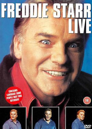 Freddie Starr: Live Online DVD Rental