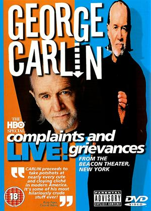 Rent George Carlin: Complaints and Grievances Online DVD Rental
