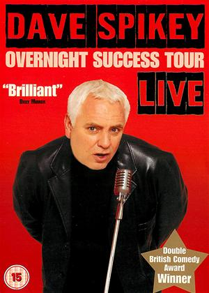 Dave Spikey: The Overnight Success Tour Live Online DVD Rental
