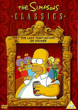 Rent The Simpsons Classics: The Last Temptation of Homer Online DVD Rental