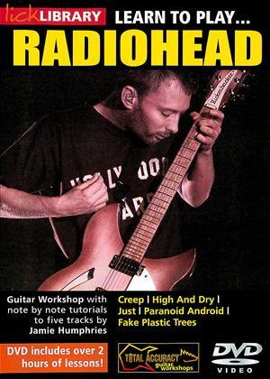 Radiohead: Learn to Play Radiohead Online DVD Rental